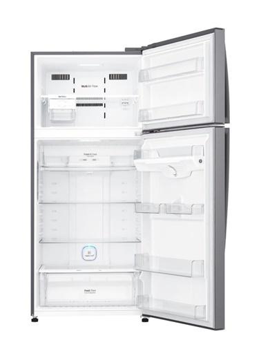 LG LG GN-H702HLHU 546 LT A++ No-Frost Çift Kapılı Buzdolabı - Inox Renkli